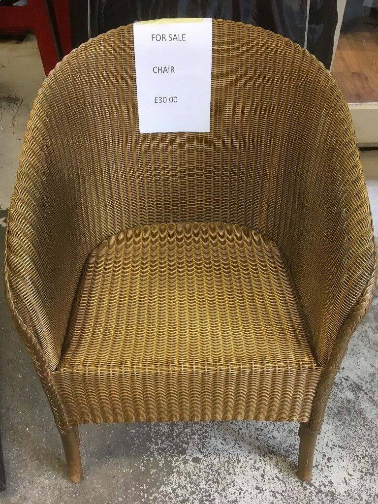 Lloyd Loom Chair Good Condition In Horsham West Sussex