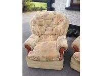 Fabric 3.1.1 with recliner.