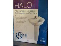 bathroom basin, compact ideal standard cloakroom basin.