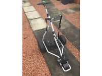 Green hill GT Air electric golf trolley for sale. Bought May 2015. Only used 7times. ��180/Ono