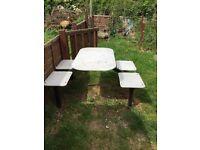 Garden table/chair set
