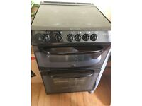 Black gas cooker