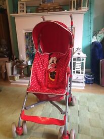Mothercare Minimouse buggy
