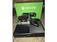 XBOX ONE 500gb plus 2 controllers and 3 games