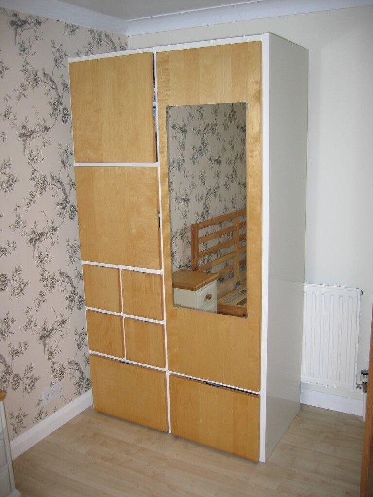 Ikea Rakke Wardrobestorage Unit With Mirror In Chelmsford Essex Gumtree