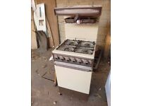 gas cooker eye level grill