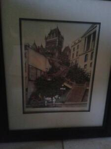 Two Paintings of Old Quebec Kitchener / Waterloo Kitchener Area image 2