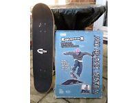 Skateboard/Skates/BMX/Remote Control Car Ramp & Skateboard