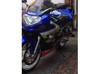 Suzuki gsx 600 K2 / 7000 miles full MOT