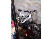 18speed mountain bike good condition needs brake leaver