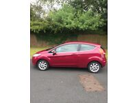 NEW SHAPE 58 PLATE FORD FIESTA ZETEC 1.2cc LOW MILEAGE 76k MOT JANUARY 2019 GREAT CONDITION