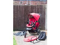 Phil & Teds Double Buggy + Accessories