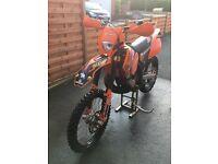 KTM 250 EXC 2006 SIX DAY ENDURO ROAD LEGAL