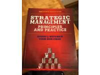 Strategic management principals and practice