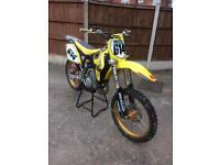 Suzuki rm 125cc motocross bike 2008 model not ktm yz cr crf kxf