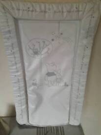 Winnie pooh baby changing mat