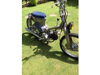 custom design Honda C90 CUB not lambretta or vespa
