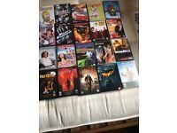 70 assorted dvds