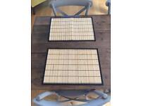 8 bamboo place mats