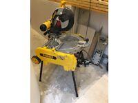 Dewalt flipover mitre / table saw brand new induction motor