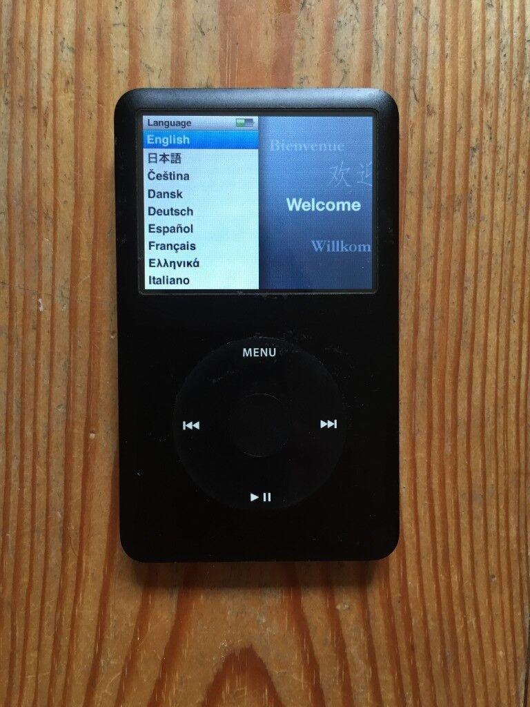 iPod classic 6th generation black (80gb)