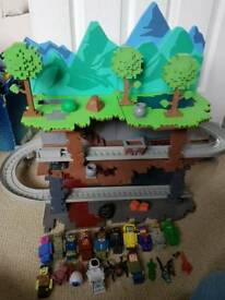 Terraria biome playset with extra figures