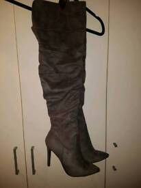 Brand new thigh high boots size 7
