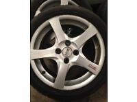 "16"" oz 4x108 pcd alloy wheels"