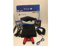 PS4 SLIM 1TB Black Boxed