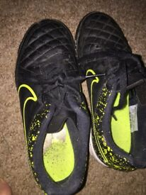 Size 1 Nike Astro turf boots