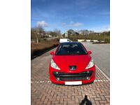 Peugeot 207 hdi gt 110 px car or bike can either way