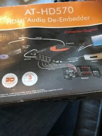HDMI audio de-embedder AT-HD570