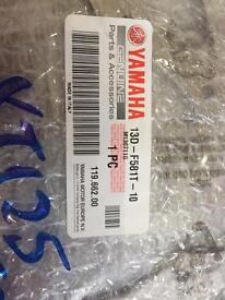 Genuine Yamaha xt125 front brake disk