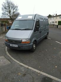 RENAULT MASTER VAN FOR SALE GOOD CONDITION. GOOD WORKHOARSE