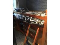 Mid sleeper cabin bed