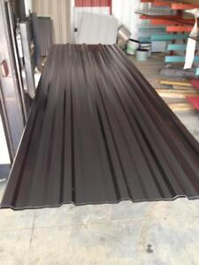 Brand New Black Metal Roofing/Siding