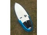 "Fourth Reload 5'8"" Surfboard Shortboard FCS Fins Bag Leash Wax"
