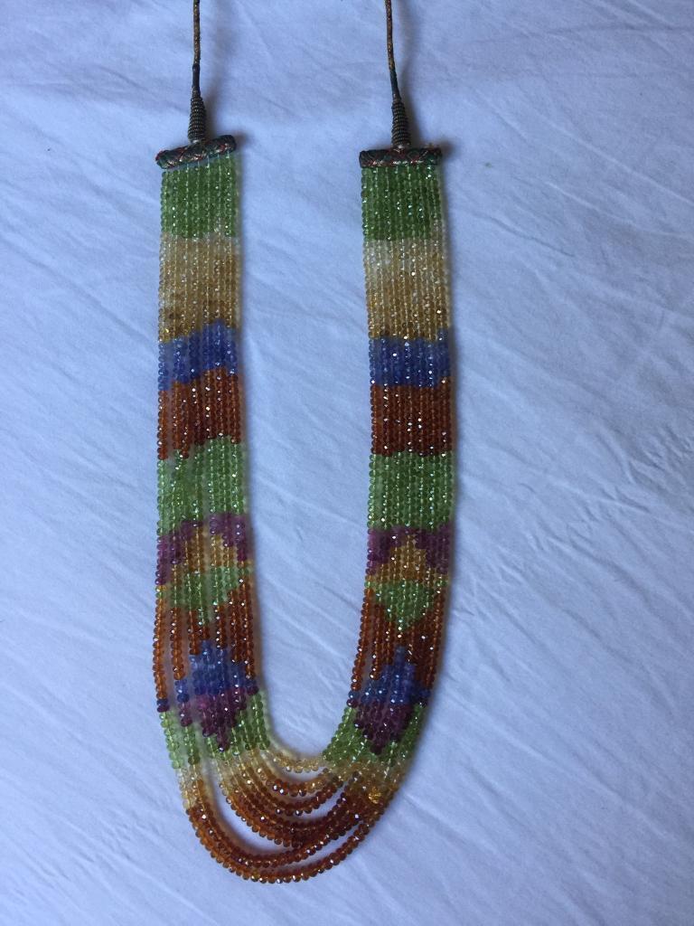 Semi precious stones necklace