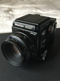 Super Rare Mamiya RZ67 Pro II D KIT in Excellent Condition - includes camera body, 110mm lens + back