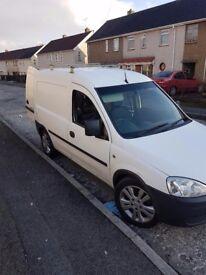 Vauxhall combo white 1.7 ctdi