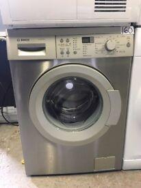 BOSCH WAQ2836SGB Washing Machine - Silver