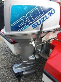 Suzuki 30hp 2 stroke outboard engine