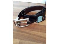 John Lewis Reversible Leather Belt