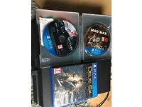 Price drop, quick sale, PS4 500gb with three games. £150
