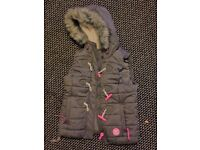Superdry Bodywarmer - Female - Grey Size 12 New without tags