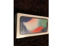 Brand new Iphone 10 X 256GB Silver (Vodafone)