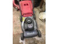 Mount field petrol mower