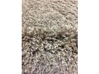 New condition dunelm biscuity shade shaggy rug