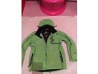 Green Trespass winter jacket