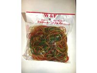 Wholesale-Resellers-24 X RUBBER BANDS 100GRAMS